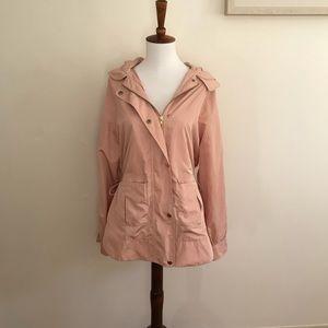 Blush Pink Trench Coat (thin)